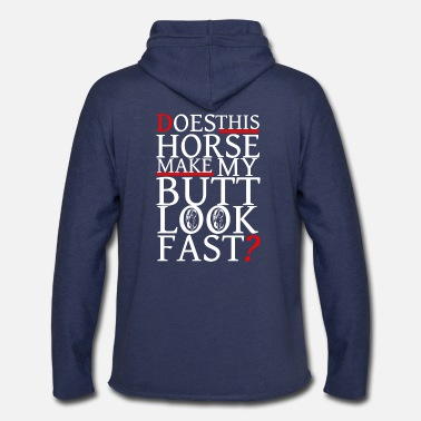 Horse Fan Horse T-Shirt for Horse Fans present funny quote - Unisex Lightweight Terry Hoodie