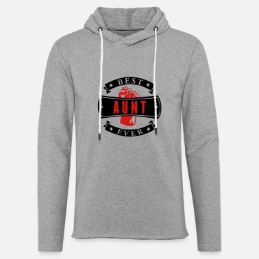 Best Aunt Ever Best Aunt Ever - Unisex Lightweight Terry Hoodie
