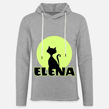 Name Day Elena Name day first name personal gift moonlight - Unisex Lightweight Terry Hoodie
