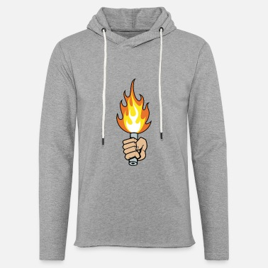 Flare Flare - Unisex Lightweight Terry Hoodie