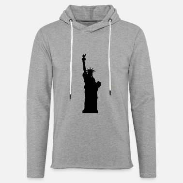 Statue statue of liberty - Unisex Lightweight Terry Hoodie