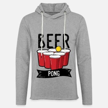 Drink Team Beer Pong Team Drinking Game Friends - Unisex Lightweight Terry Hoodie