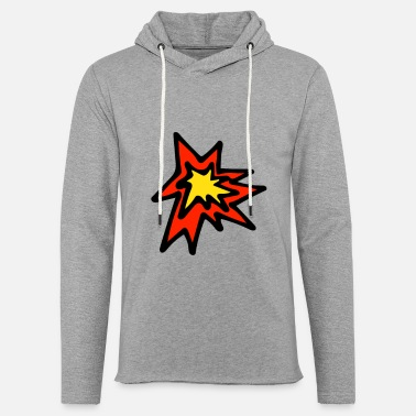 Explosion Explosion - Unisex Lightweight Terry Hoodie