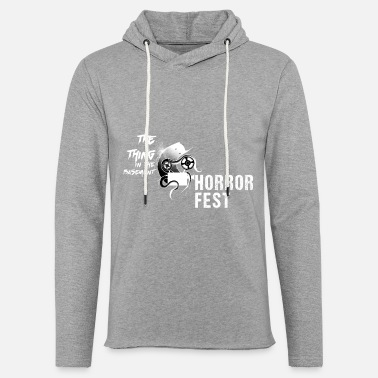 Thing The Thing in the Basement Horror Fest - Unisex Lightweight Terry Hoodie