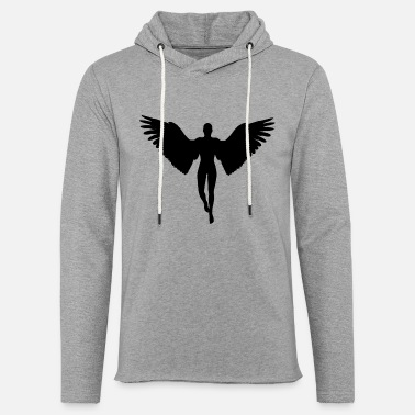 angel graphic - Unisex Lightweight Terry Hoodie