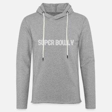 super bowl liv logo - Unisex Lightweight Terry Hoodie