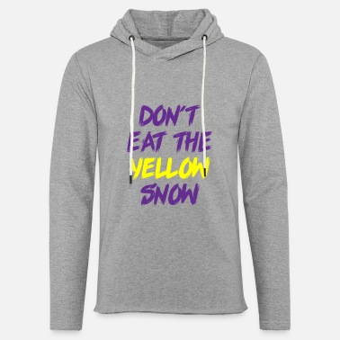 Switzerland Yellow snow skiing winter gift holiday - Unisex Lightweight Terry Hoodie