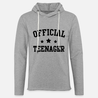Official Teenager Boys Official Teenager - Unisex Lightweight Terry Hoodie