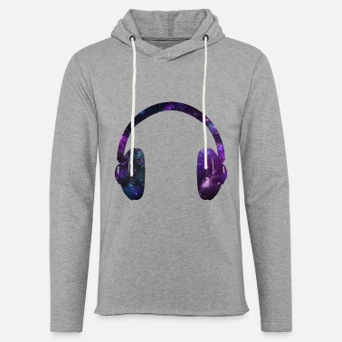 Headphones Space Headphones - Unisex Lightweight Terry Hoodie