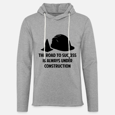 Road The Road To Success - Unisex Lightweight Terry Hoodie