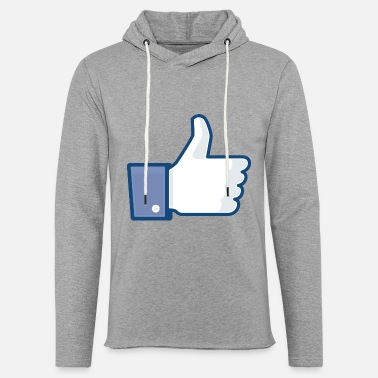 Clic Thumb up - Unisex Lightweight Terry Hoodie