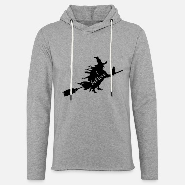 Witch I Believe - Unisex Lightweight Terry Hoodie