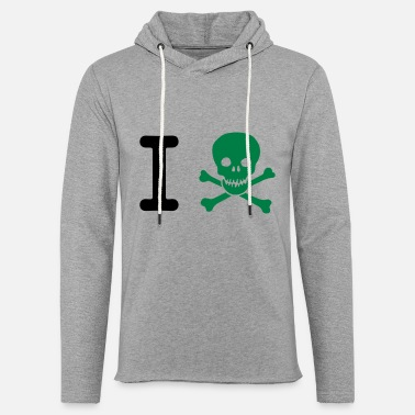 Word I hate - Unisex Lightweight Terry Hoodie