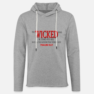 Reds WICKED RED - Unisex Lightweight Terry Hoodie
