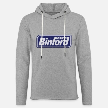 Tooltime Binford Tools is proud to present - Unisex Lightweight Terry Hoodie