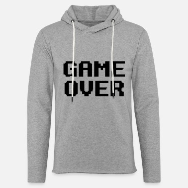 Game Over - Unisex Lightweight Terry Hoodie