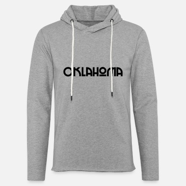 United States Oklahoma - US State - United States of America - Unisex Lightweight Terry Hoodie