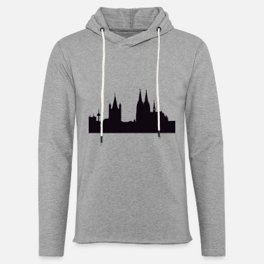 Cathedral Cathedral Illustration - Unisex Lightweight Terry Hoodie