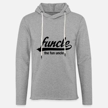 Fun Funcle - The Fun Uncle - Unisex Lightweight Terry Hoodie