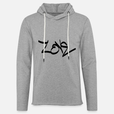 Love Tag love - Unisex Lightweight Terry Hoodie