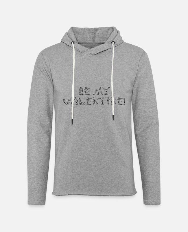 Vancouver Hoodies & Sweatshirts - Be my Valentine - roller boarder - Unisex Lightweight Terry Hoodie heather gray