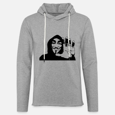 Anonyous Anonymous - Unisex Lightweight Terry Hoodie