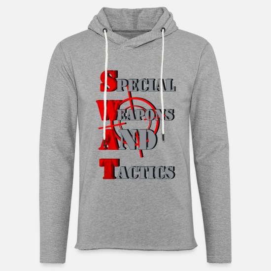Swat Hoodies & Sweatshirts - SWAT - Unisex Lightweight Terry Hoodie heather gray