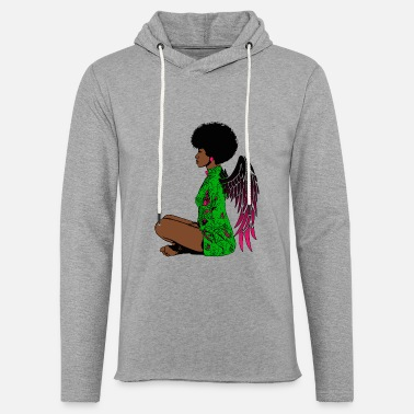 Ángel Angel2 - Unisex Lightweight Terry Hoodie