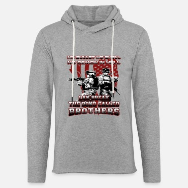Armed Forces Brothers - Unisex Lightweight Terry Hoodie