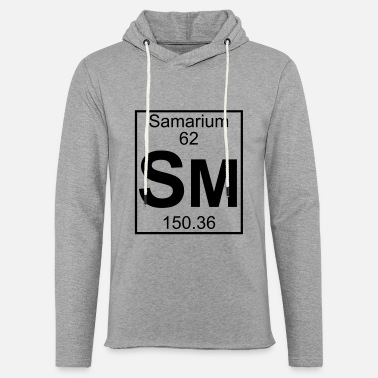 Sm Element 62 - Sm (samarium) - Full - Unisex Lightweight Terry Hoodie