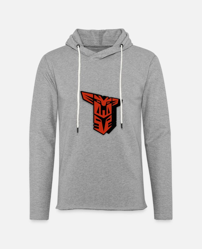 Cool Art Hoodies & Sweatshirts - cool design - Unisex Lightweight Terry Hoodie heather gray