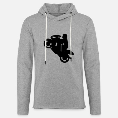 Wheelie Sit Down - Unisex Lightweight Terry Hoodie