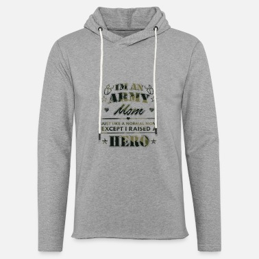 Army Army Mom - Unisex Lightweight Terry Hoodie