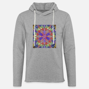 Painting abstract colorfull digital painting - Unisex Lightweight Terry Hoodie
