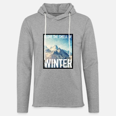 Winter THE SMELL OF WINTER - Unisex Lightweight Terry Hoodie