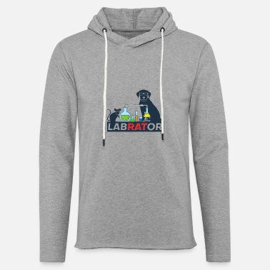 Mouse Labrator - Unisex Lightweight Terry Hoodie