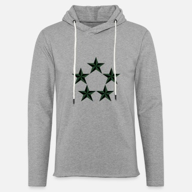 Rank General General of the Army GA Rank, Mision Militar ™ - Unisex Lightweight Terry Hoodie