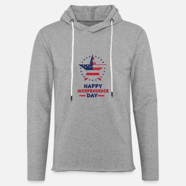 Independence Day Happy Independence day - Unisex Lightweight Terry Hoodie