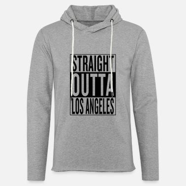 50//50 BLACK PULLOVER HOODIE STRAIGHT OUT OF OUTTA DETROIT HIP-HOP CALIFORNIA