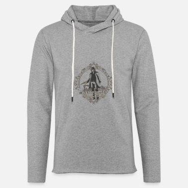 Pacific Raise Hell on Union Pacific - Unisex Lightweight Terry Hoodie