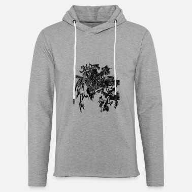 Grapchic abstract - Unisex Lightweight Terry Hoodie