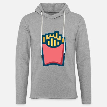 French Roast french fries - Unisex Lightweight Terry Hoodie