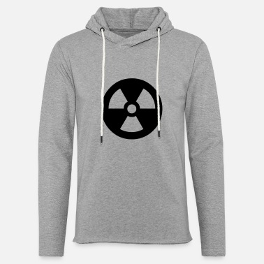 Nuclear Symbol - Unisex Lightweight Terry Hoodie