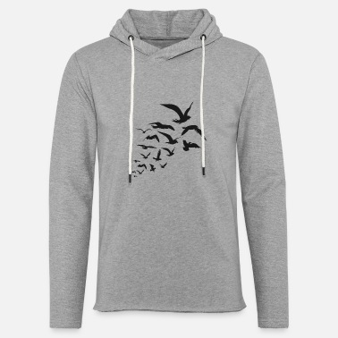 Bird Birds - Birds - Unisex Lightweight Terry Hoodie