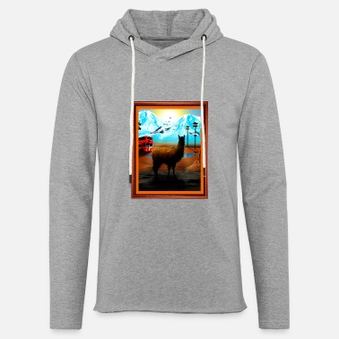 Phish Lyrics Phish Llama Lot Shirt - Unisex Lightweight Terry Hoodie