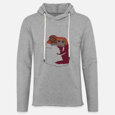 Protector Pocket Protector - Unisex Lightweight Terry Hoodie