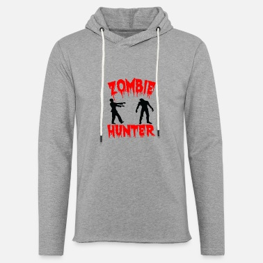 ZOMBIE HUNTER - Unisex Lightweight Terry Hoodie