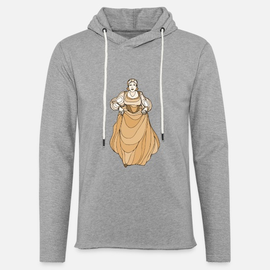Play Hoodies & Sweatshirts - Shakespeare characters Maria - Unisex Lightweight Terry Hoodie heather gray