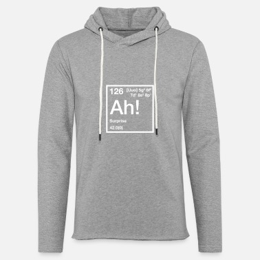 Surprise The Element of Surprise - Unisex Lightweight Terry Hoodie