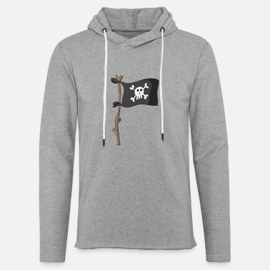 Pirate Flag pirate flag - Unisex Lightweight Terry Hoodie